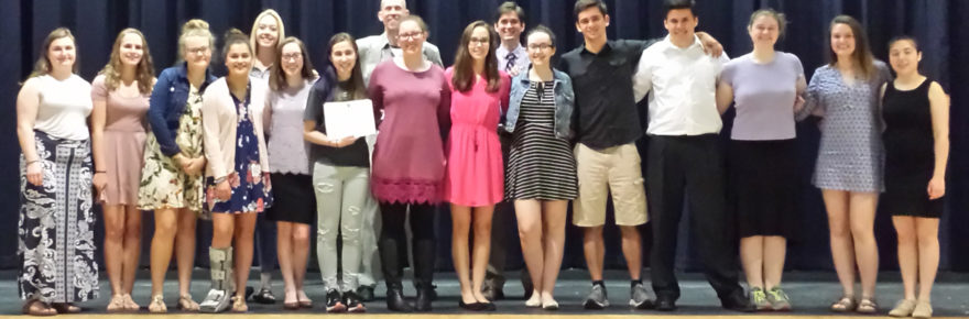Spring 2017 Speech Competition at Merrimack Valley High School
