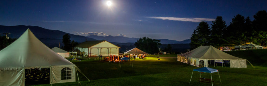 PorcFest at Night