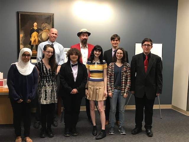 The Founders Academy speech competition participants
